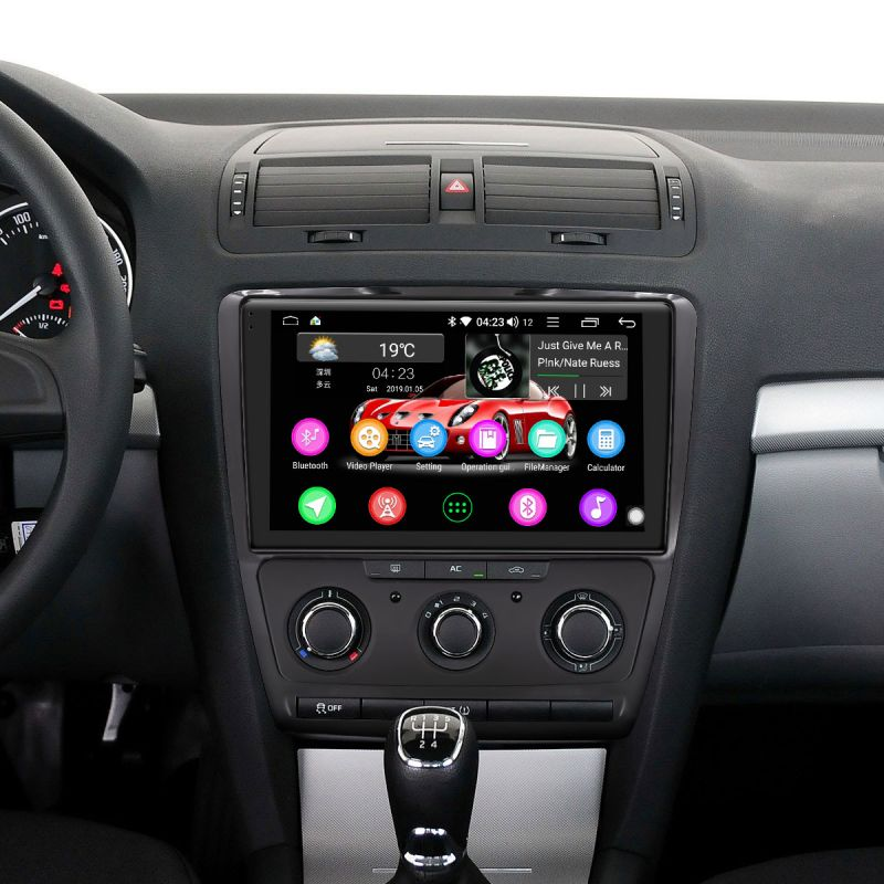 skoda autoradio android auto system