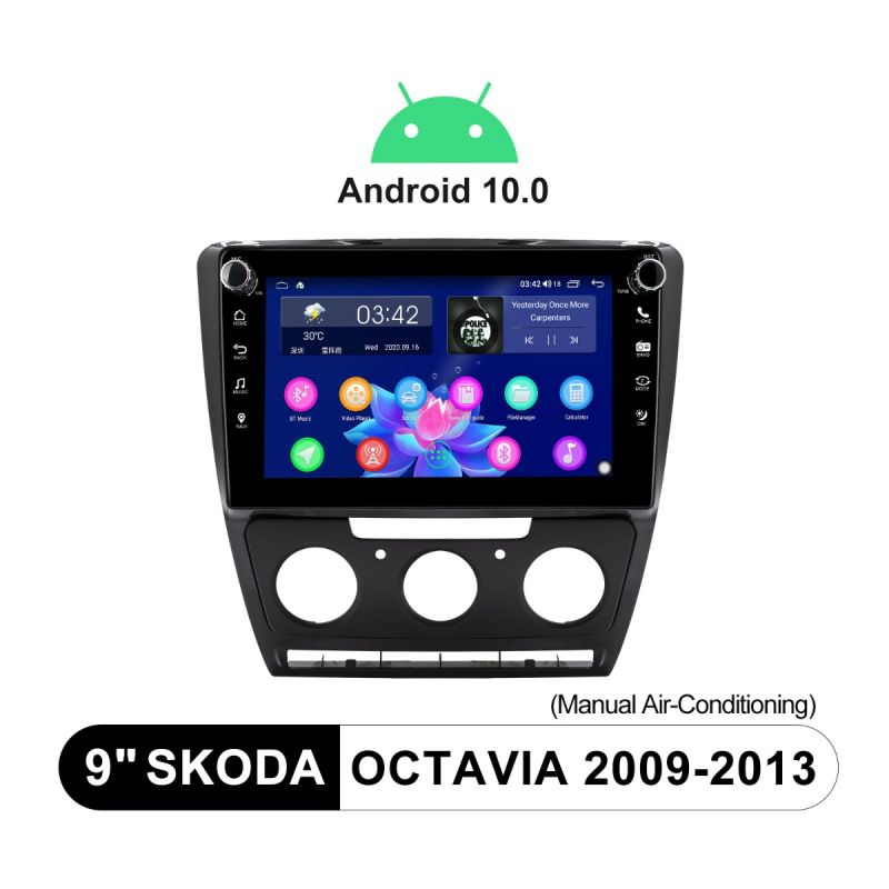 skoda octavia head unit replacement