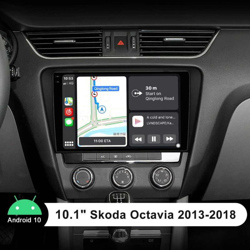 skoda octavia android head unit