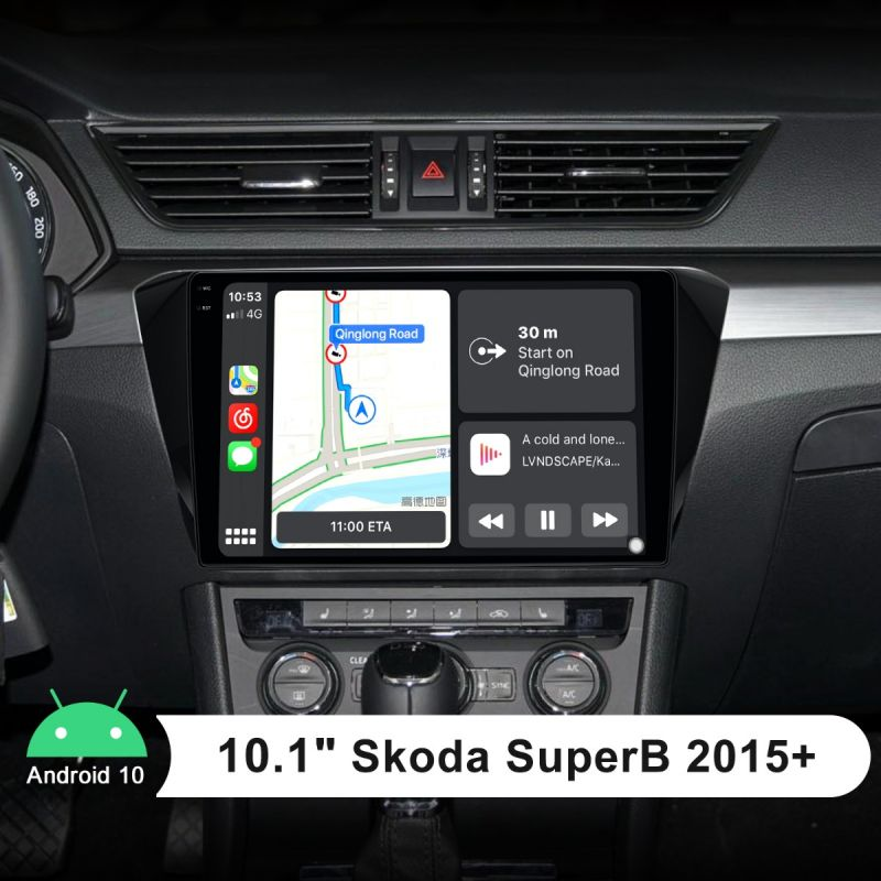 skoda superb head unit