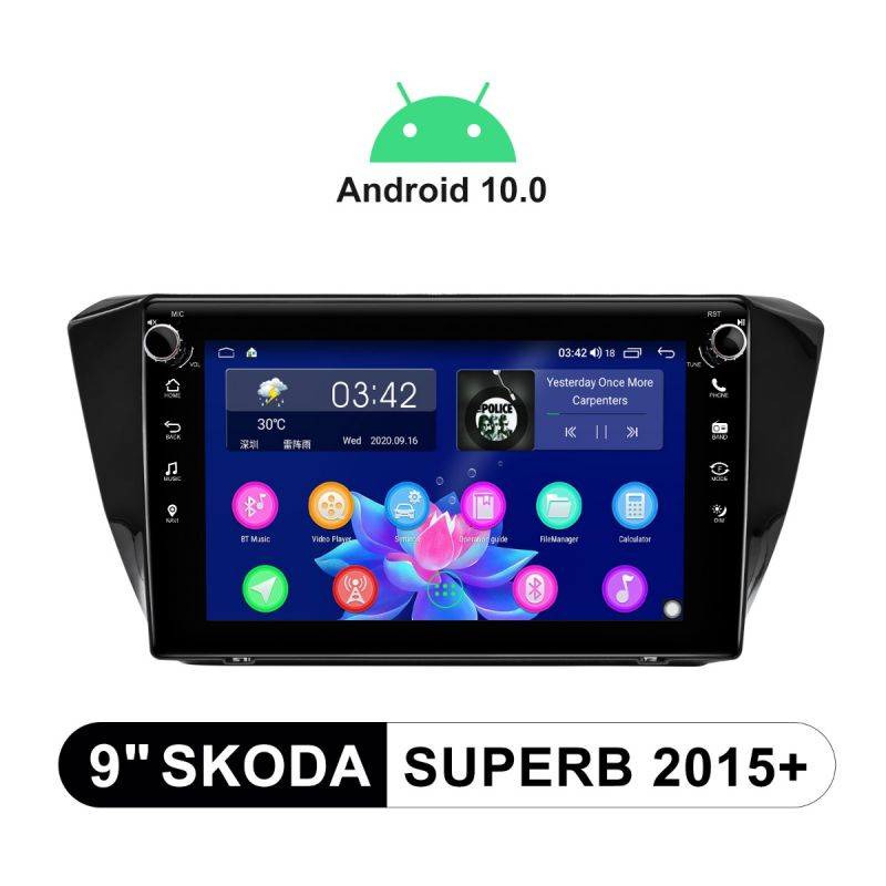 skoda superb android radio