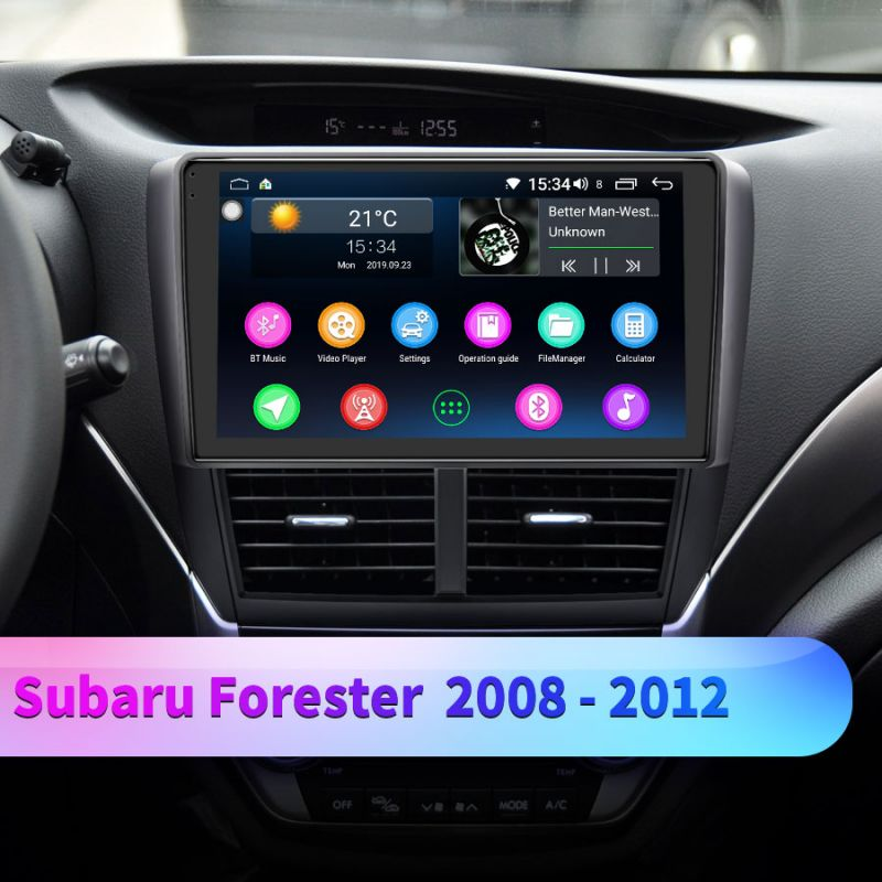 subaru forester aftermarket car radio