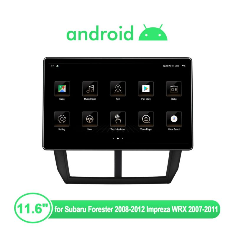 android 10 head unit subaru legacy