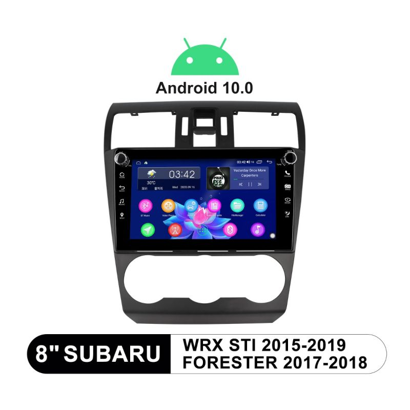 subaru forester android auto head unit