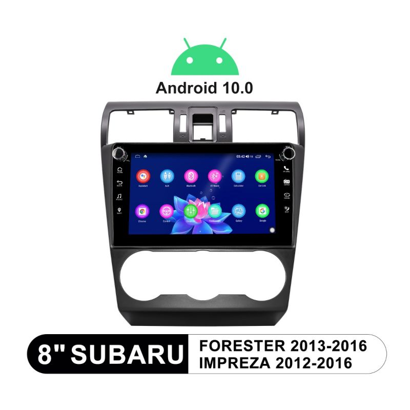 Subaru Forester Impreza 2013-2015 Android 10.0 Car Sound System 4G Head Unit with DSP