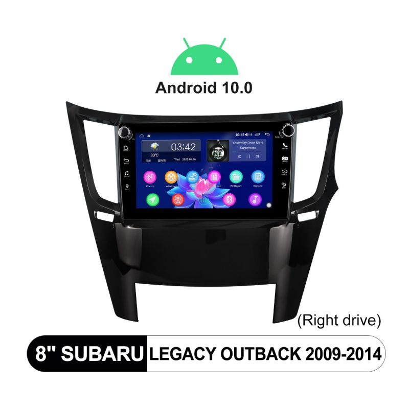 subaru legacy android head unit replacemnt