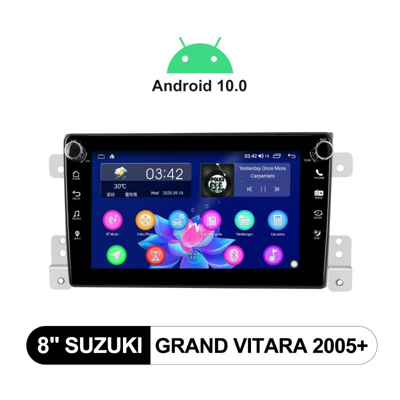 Suzuki Grand Vitara head unit