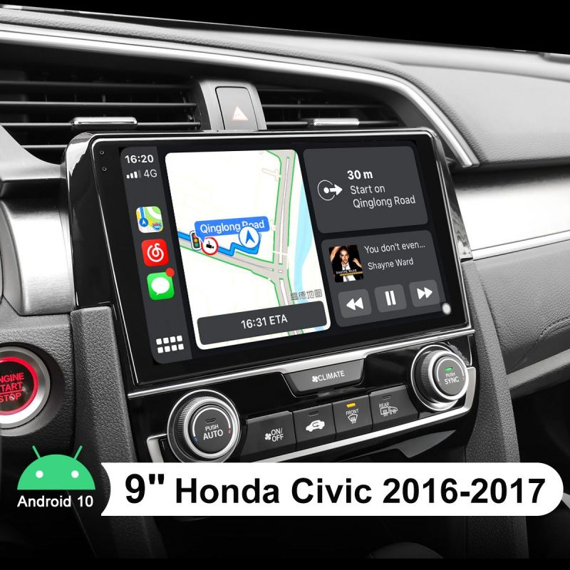 android radio honda civic