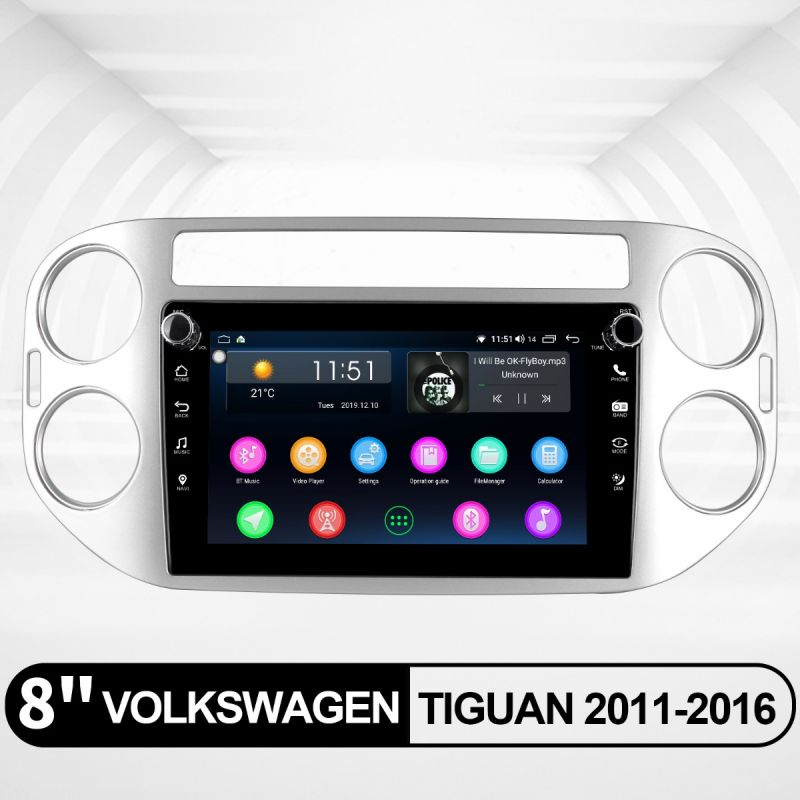 volkswagen tiguan android stereo
