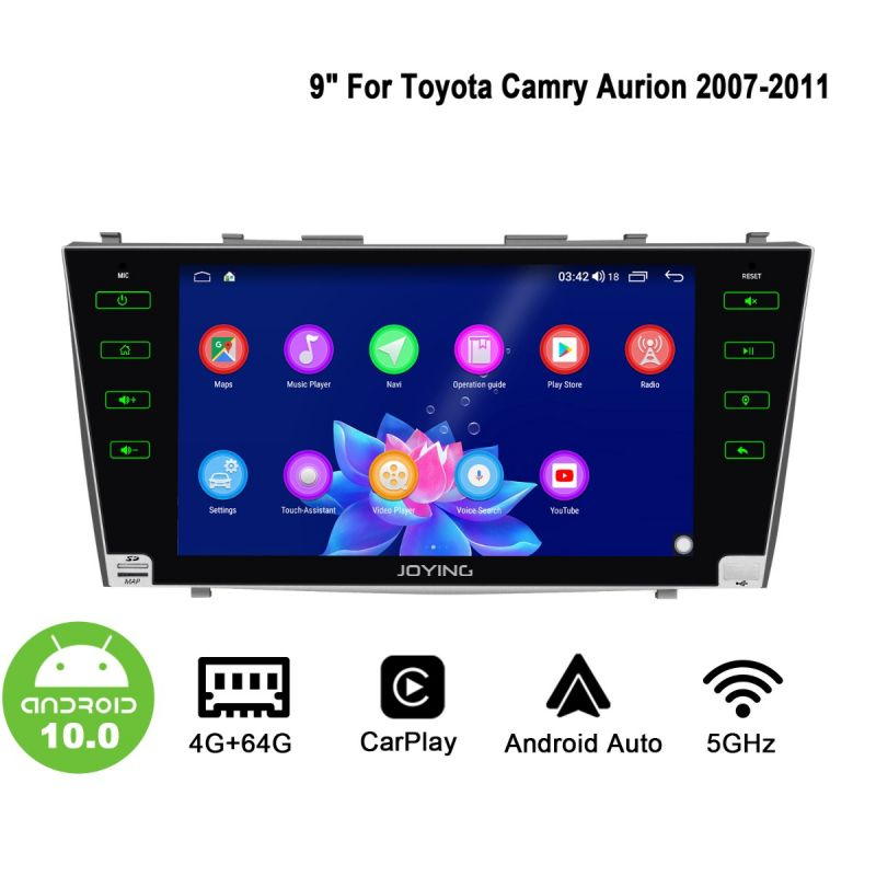 toyota camry android 10 head unit