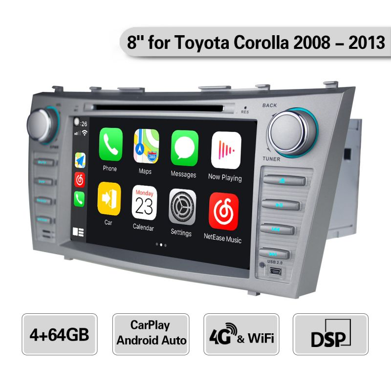 toyota double din head unit