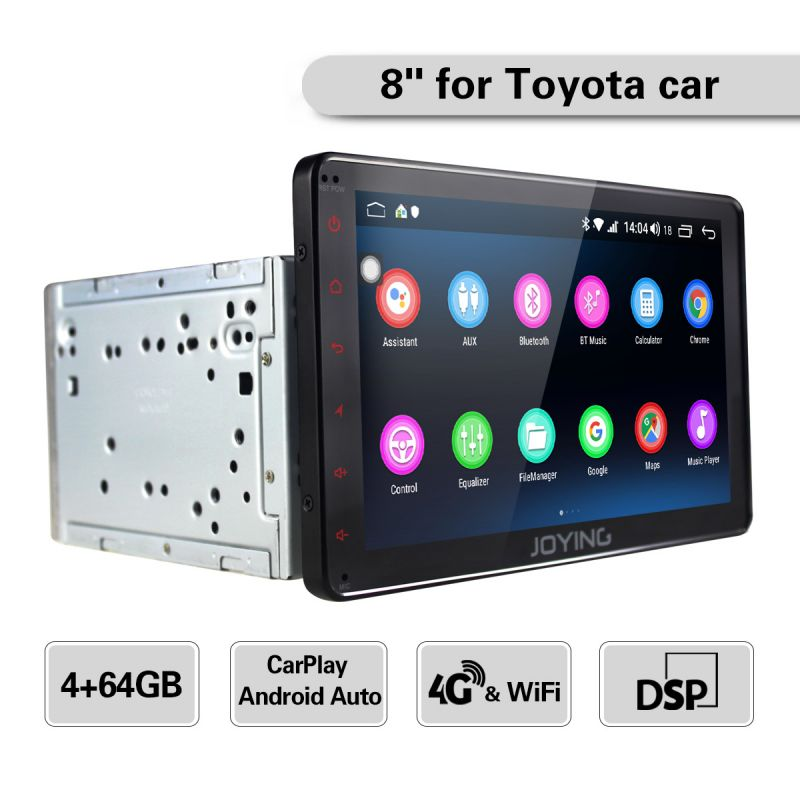 4G LTE Car stereo android auto system