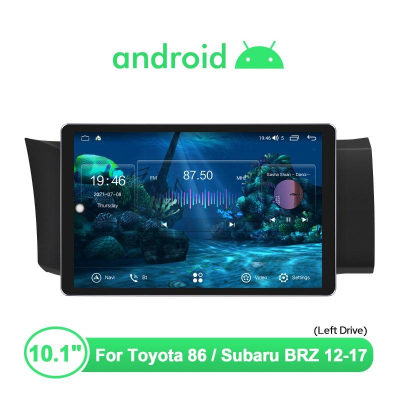 Toyota GT86 Subaru BRZ 2012-2017 10.1 Inch Car Stereo Android Auto Carplay