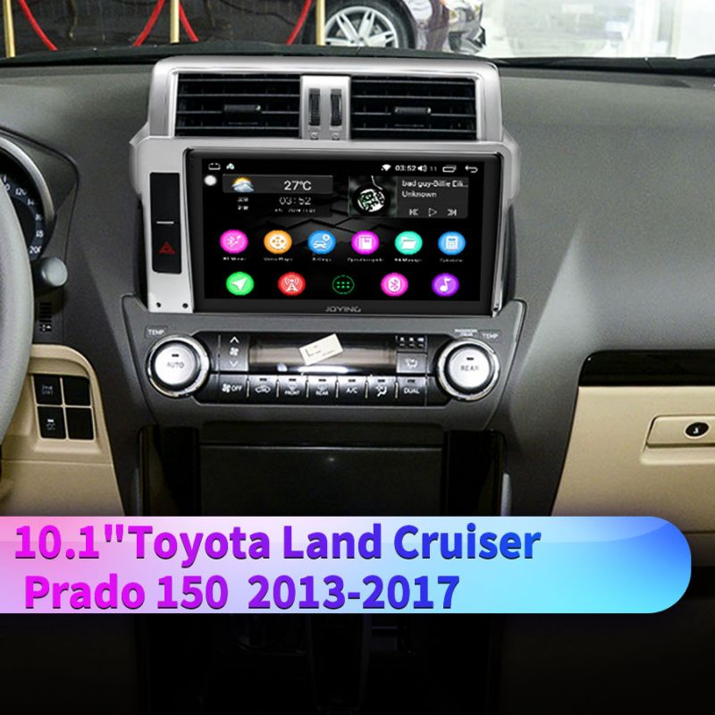 10.1 inch 1280*720 Screen Android GPS Navigation System for Toyota Land Cruiser Prado 150 2013-2017