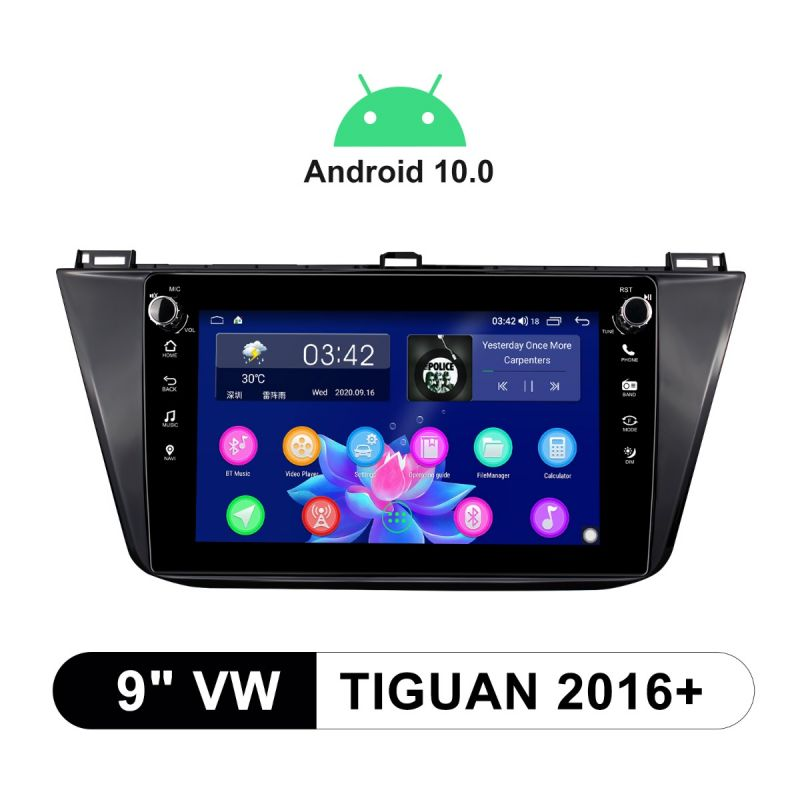 volkswagen tiguan android head unit
