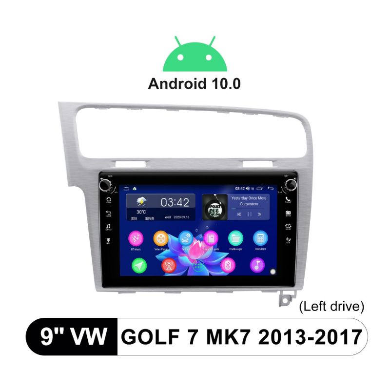 vw golf7 android stereo