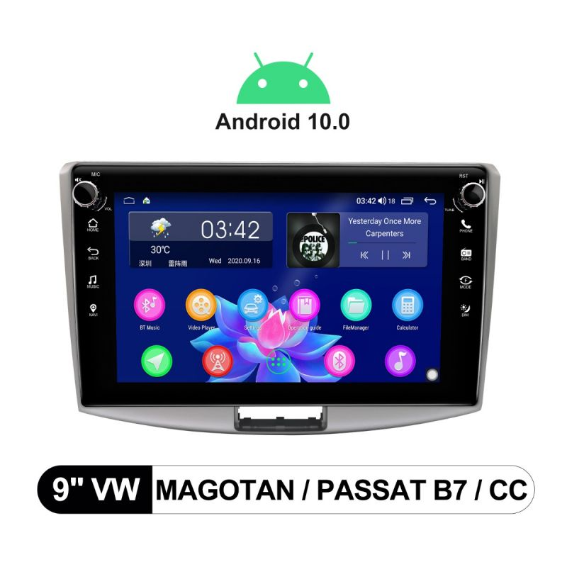 vw magotan android stereo