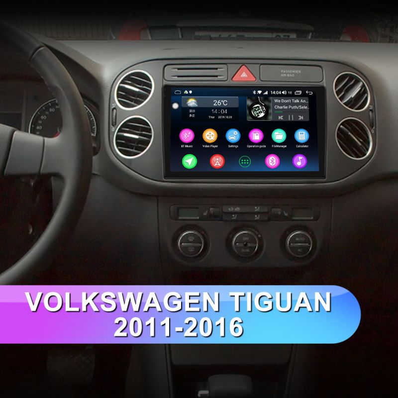 volkswagen tiguan head unit