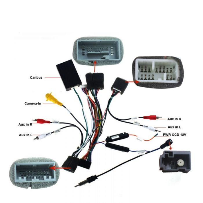Joying Wiring Cable For Honda Civic Canbus Adapter Harness For Android Head Unit