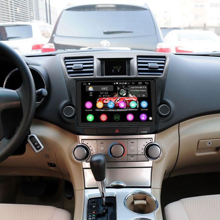 Car Audio System >> Joying Android 8 1 Toyota Highlander Head Unit 4g Car Audio System Built In Dsp
